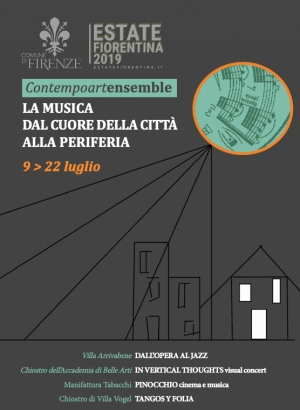 In vertical thoughts, visual concert in Accademia
