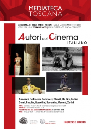 Autori del cinema italiano, ciclo di lezioni in Mediateca