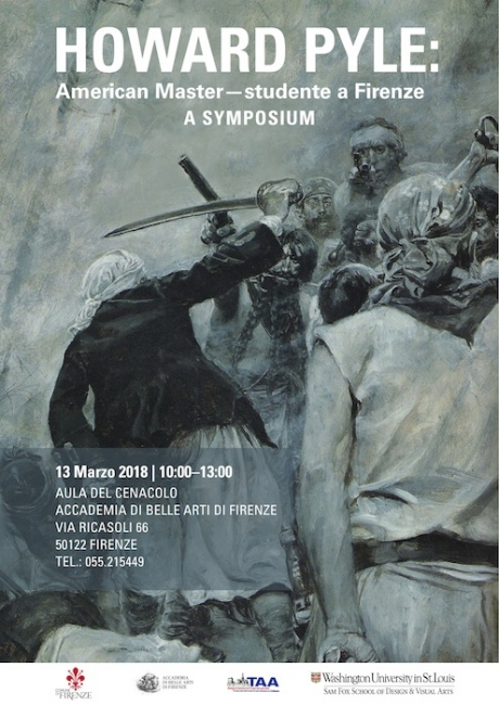 Conferenza sull'illustratore americano Howard Pyle