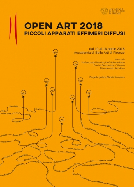 Open Art 2018 – Piccoli apparati effimeri
