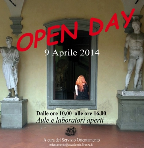 OPEN DAY 2014 Accademia di Belle Arti di Firenze
