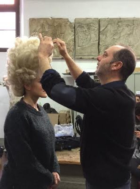 Workshop di trucco cinematografico