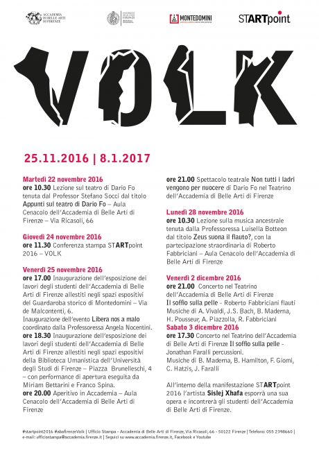 START point 2016 - VOLK/POPOLO